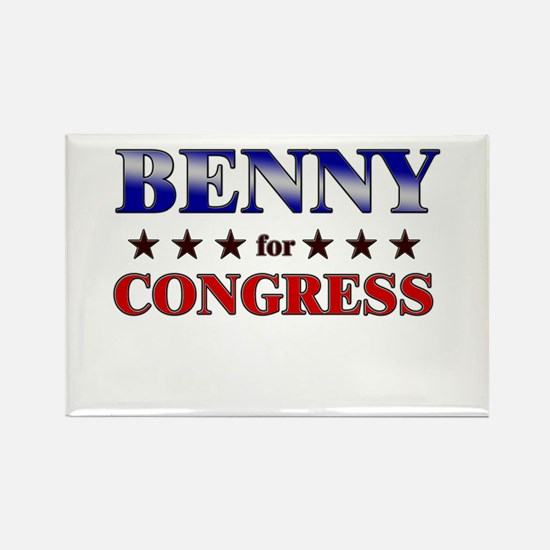 BENNY for congress Rectangle Magnet