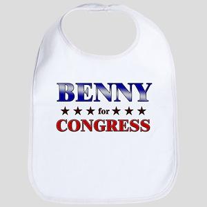BENNY for congress Bib