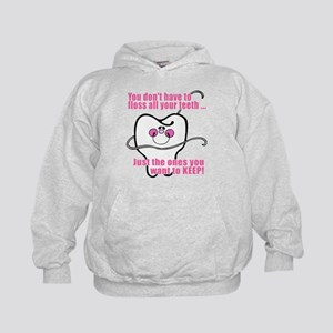 You don't have to floss Kids Hoodie