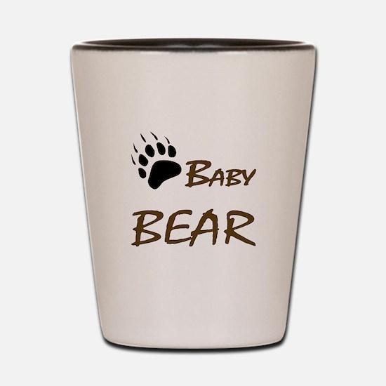Baby Bear Shot Glass