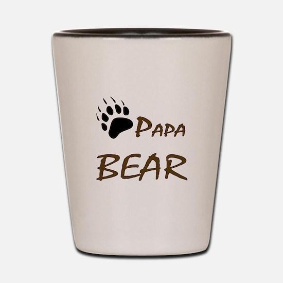 Papa Bear Shot Glass