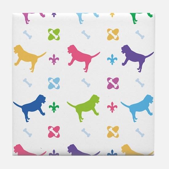 Bloodhound Designer Tile Coaster