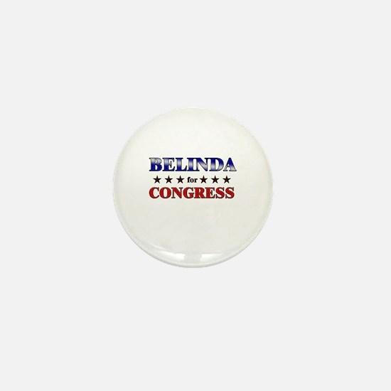 BELINDA for congress Mini Button