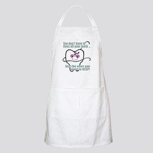 You don't have to floss BBQ Apron