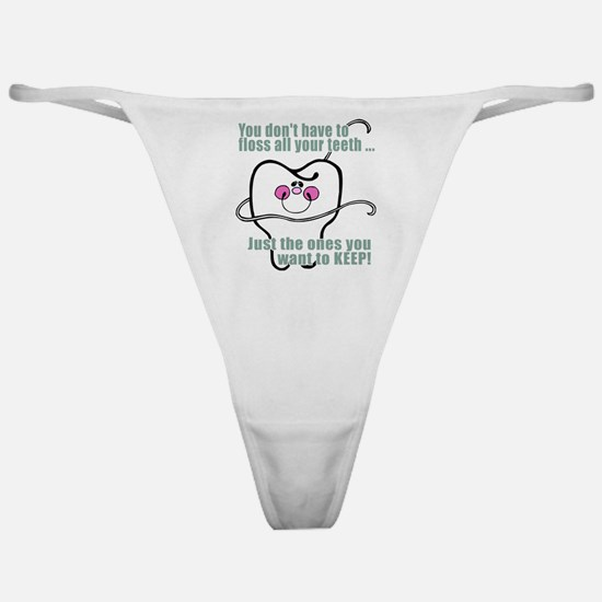 You don't have to floss Classic Thong