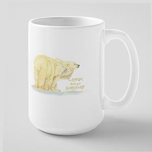 Im Bipolar whats you Super Power Polar Bear H Mugs
