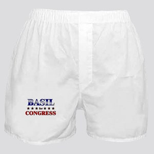 BASIL for congress Boxer Shorts