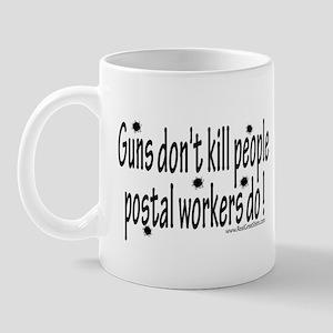 Guns and Postal Workers Mug