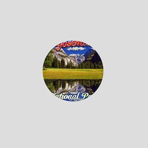 Yosemite National Park Mini Button