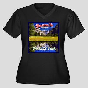 Yosemite National Park Plus Size T-Shirt