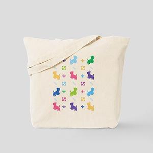Cairn Terrier Designer Tote Bag