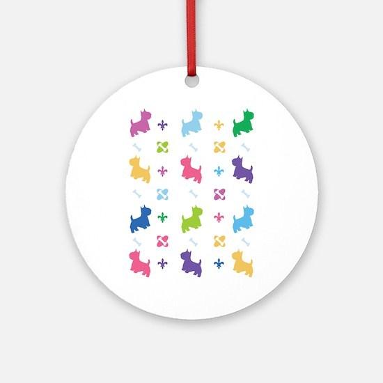 Cairn Terrier Designer Ornament (Round)