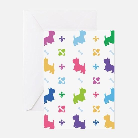 Cairn Terrier Designer Greeting Card