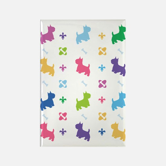 Cairn Terrier Designer Rectangle Magnet