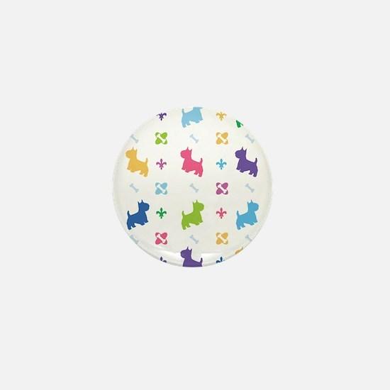 Cairn Terrier Designer Mini Button