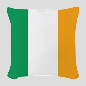 Irish Tricolour Square - flag of Ireland Woven Thr
