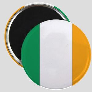 Irish Tricolour Square - flag of Ireland Magnets