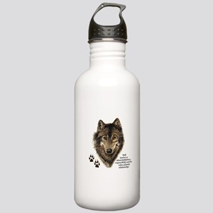 Wolf Totem Animal Guid Stainless Water Bottle 1.0L