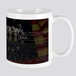 U.S. Outline - Constitution Mugs
