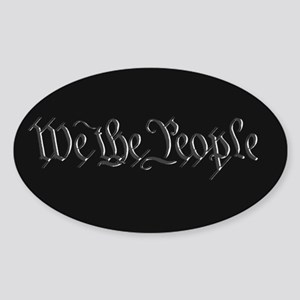 U.S. Outline - We the People Sticker