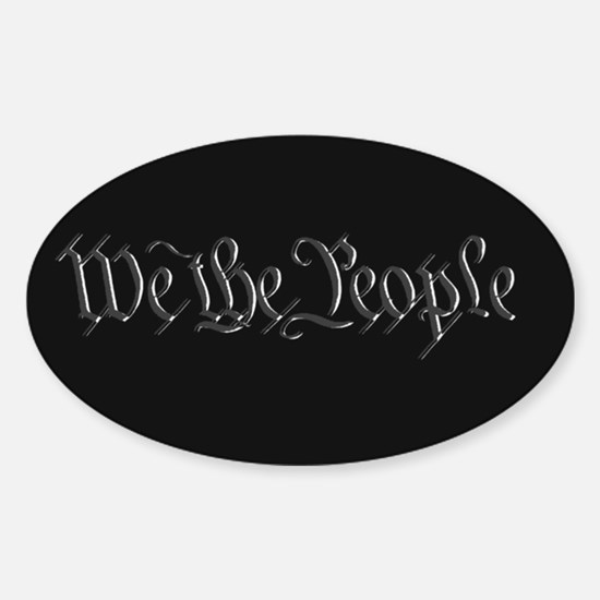 U.S. Outline - We the People Decal