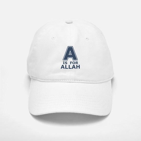 A is for Allah Baseball Baseball Cap