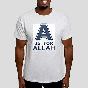A is for Allah Light T-Shirt