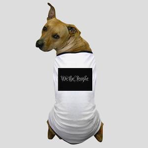 U.S. Outline - We the People Dog T-Shirt