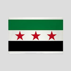 Free Syrian Republic Flag Magnets