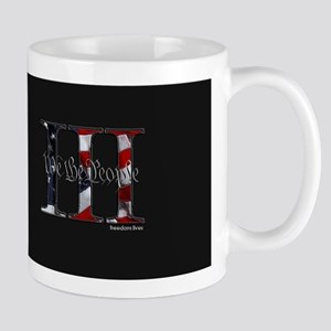 U.S. Outline - We the People III Mugs