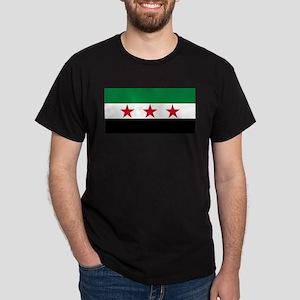Free Syrian Republic Flag T-Shirt