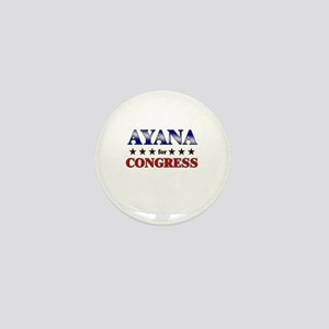 AYANA for congress Mini Button