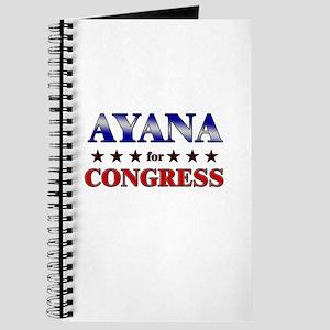 AYANA for congress Journal