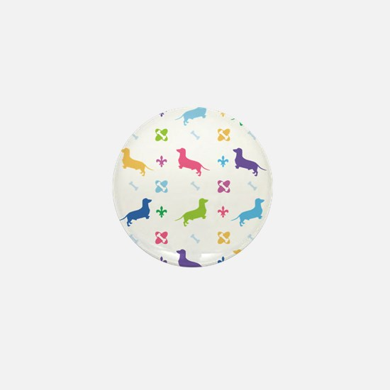 Dachshund Designer Mini Button