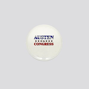 AUSTEN for congress Mini Button