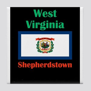 Shepherdstown West Virginia Tile Coaster