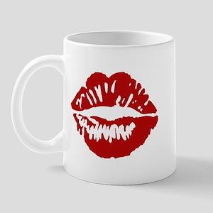 Red Lips / Lipstick Kiss Mug