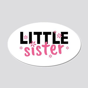 Little Sister 20x12 Oval Wall Decal