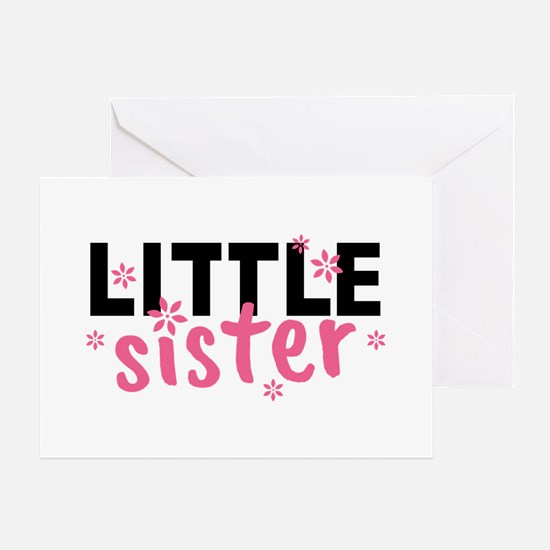Little Sister Greeting Card