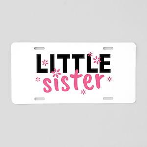 Little Sister Aluminum License Plate