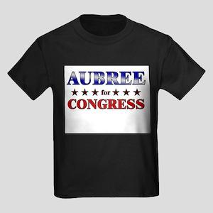AUBREE for congress Kids Dark T-Shirt