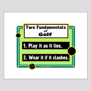 Two Fundamentals Of Golf Posters