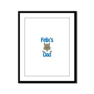 Felix's Dad Framed Panel Print