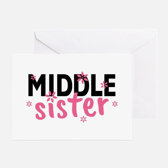 Middle Sister Greeting Card