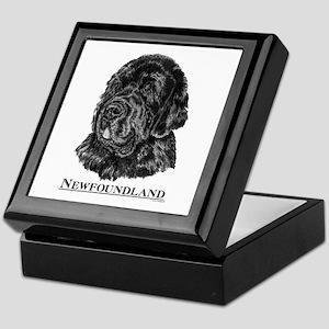 Newfoundland Dog Breed Keepsake Box