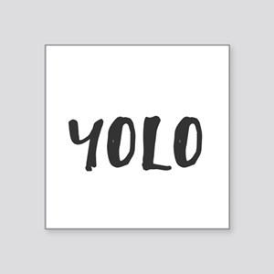 YOLO Sticker