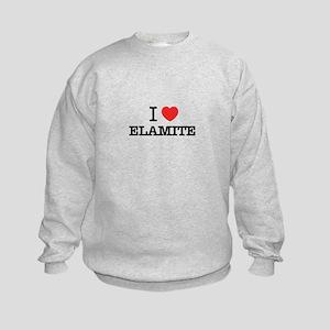I Love ELEKTRA Kids Sweatshirt