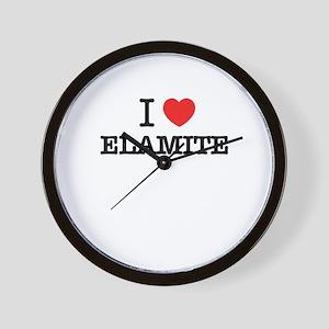 I Love ELEKTRA Wall Clock