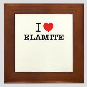 I Love ELEKTRA Framed Tile