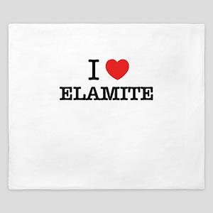 I Love ELEKTRA King Duvet